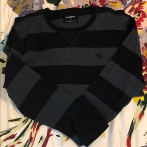 Express Striped Warm Long Shirt